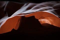 Vallée de monument de Canon Arizona Etats-Unis d'antilope photographie stock