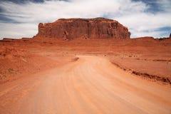 Vallée de monument, canyon de désert en Utah, Etats-Unis Photos libres de droits