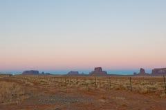 vallée de monument d'horizontal Photo libre de droits