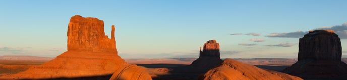 Vallée de monument en hiver photographie stock libre de droits