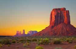 Vallée de monument, Etats-Unis Photographie stock