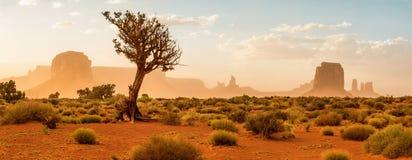 Vallée de monument, Etats-Unis images libres de droits