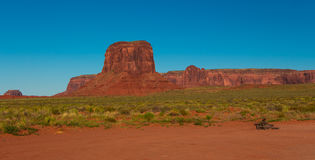 Vallée de monument, formation de roche Image libre de droits
