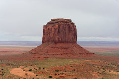 Vallée de monument, l'Arizona et l'Utah, Etats-Unis Images stock