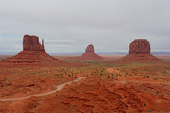 Vallée de monument, l'Arizona et l'Utah, Etats-Unis Image stock