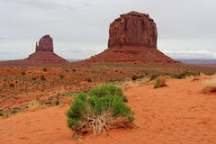 Vallée de monument, l'Arizona et l'Utah, Etats-Unis Photo stock
