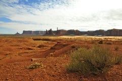 Vallée de monument (¼ Ndzisgaii de Tsé BiiÊ) ; L'Arizona/Utah image stock
