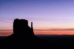 Vallée de monument, parc tribal, Arizona, Utah, Etats-Unis Photos stock