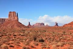 Vallée de monument - réservation de Navajo Photo stock