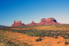 Vallée de monument, Utah Photos stock