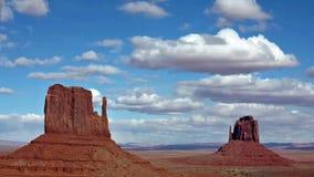 Vallée de monument, Utah banque de vidéos