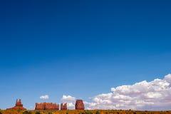 Vallée de monument, Utah Photographie stock libre de droits