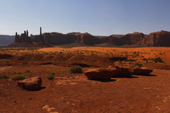 Vallée de monument, Utah, Etats-Unis Image libre de droits