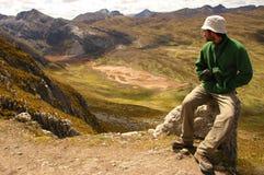 Vallée de négligence de voyageur Image libre de droits