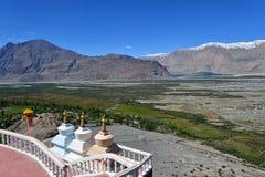 Vallée de Nubra dans Ladakh, Inde Images stock