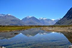 Vallée de Nubra dans Ladakh, Inde Photographie stock libre de droits