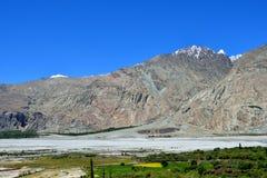 Vallée de Nubra dans Ladakh, Inde Photo libre de droits
