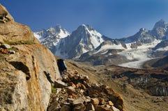 vallée de Pamir Photos stock