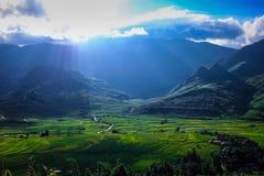 Vallée de pha de Khau images libres de droits