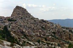 Vallée de pigeon dans Cappadocia Images stock