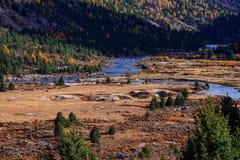 vallée de plateau de chuanxi Photo stock