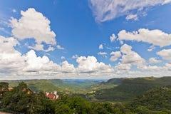 Vallée de Quilombo à la ville de Canela, Rio Grande do Sul, Brésil Photographie stock libre de droits