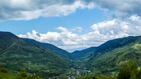 Vallée de rivière Tysa images stock