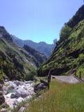 Vallée de roses, Alpes d'Apuan (Italie) Photographie stock libre de droits