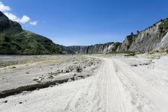 vallée de route de Philippines de saleté de corneille photo libre de droits