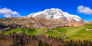 Vallée de Seriana photographie stock libre de droits