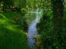 Vallée de Soca, Slovénie Photos stock