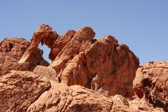 Vallée de stationnement d'état du Nevada d'incendie Images libres de droits