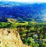 Vallée de Tegucigalpa, Honduras Images libres de droits