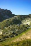 Vallée de verticale de mangart d'est Image libre de droits