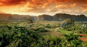 Vallée de Viñales, Cuba Image stock