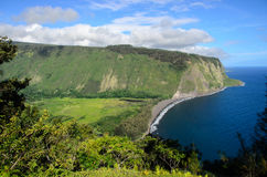Vallée de Waipio photographie stock libre de droits