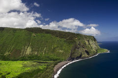 Vallée de Waipio Images libres de droits