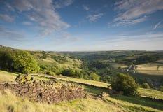 Vallée de Yorkshire de printemps Photo stock