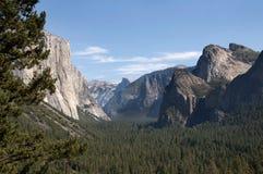 Vallée de Yosemite Photo libre de droits