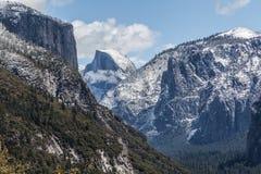 Vallée de Yosemite - demi dôme I Photo libre de droits