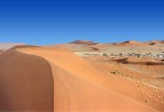 Vallée des dunes Photographie stock