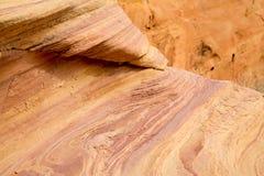 Vallée des formations de roche du feu photographie stock