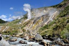 Vallée des geysers Image stock