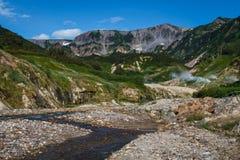 Vallée des geysers kamchatka Photographie stock libre de droits