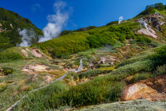 Vallée des geysers kamchatka Image stock