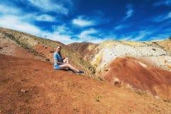 Vallée des paysages de Mars photos stock