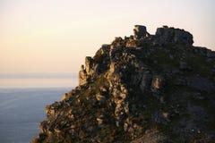 Vallée des roches Images stock