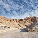 Vallée des rois, Egypte. image stock