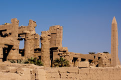 Vallée des ruines de rois Photo libre de droits