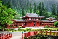 Vallée des temples Memorial Park, Maui, Hawaï photographie stock libre de droits